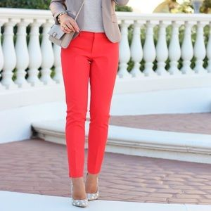 Banana Republic Sloan Pants in Red